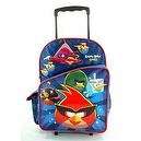 "Angry Birds Space 16"" Large Rolling Backpack - Angry Birds Space"