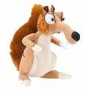 "Ice Age PLUSH SCRAT 6"" - Dawn of the Dinosaurs (2009)"