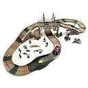 Military Journey Assembly Track Set with Army Men & Vehicles Playset