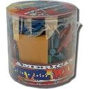 Civil War Soldier 70+ Piece Playset: Bucket of 2 inch Plastic Army Men and Accessories - 1:35 Scale