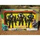 3 DELUXE SOLDIER ACTION HERO COMBAT FORCE PLAY SET FIGURES