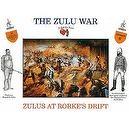 The Zulu War - Zulus At Rorkes Drift Plastic Army Men: 16 piece set of 54mm Figures - 1:32 Scale