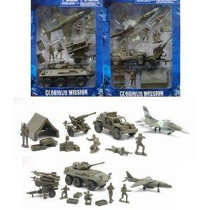 New Ray Glorious Mission 1:32 Scale Deluxe Military Set (2 Assorted Styles)
