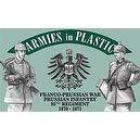 Franco-Prussian War 1870-1871 Prussian Infantry 95th Regiment (18) 1/32 Armies in Plastic