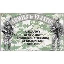 Operation Enduring Freedom - US Army Afghanistan Set #2: 18 piece set of 54mm Plastic Army Men Figures - 1:32 Scale