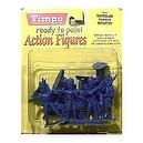 French Infantry at Waterloo: 8 piece set of 54mm Plastic Army Men Figures - 1:32 scale