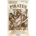 Classic Pirates: 16 piece set of 54mm Plastic Army Men Figures - 1:32 Scale