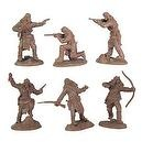 Apaches Set #1 Plastic Army Men: 12 piece set of 54mm Figures - 1:32 scale by Paragaon Miniatures