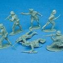 PLASTIC ARMY MEN (144 PIECES) - BULK
