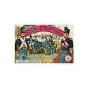 Napoleonic Wars Waterloo 1815 British Royal Artillery Crew (5) w/Cannon 1/32 Armies in Plastic