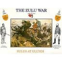 The Zulu War - Zulus At Ulundi Plastic Army Men: 16 piece set of 54mm Figures - 1:32 Scale