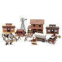 Big Country Western Playset (Plastic) 1-32 BMC