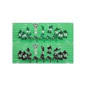Kaskey Kids Football Guys Green vs. Black Figure Set