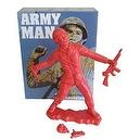 Big Army Man (Commie Red) by Frank Kozik