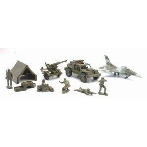 12 Piece Military Playset (Set B) (NewRay) 61685