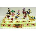 Adorable Mickey Mouse Clubhouse 11 Piece Birthday Cake Topper Set Featuring Mickey Mouse, Minnie Mouse, Donald Duck, Daisy Duck