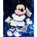"Disneys Mickey Mouse in Tennis Attire 7"" Plush Beanie"