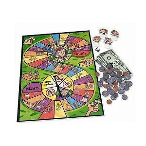 Learning Resources Money Bags A Coin Value Game