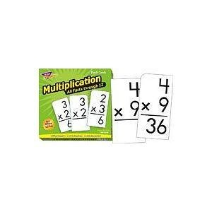 Flash Cards: Multiplication 0-12 All Facts; 169 Cards; no. T-53203