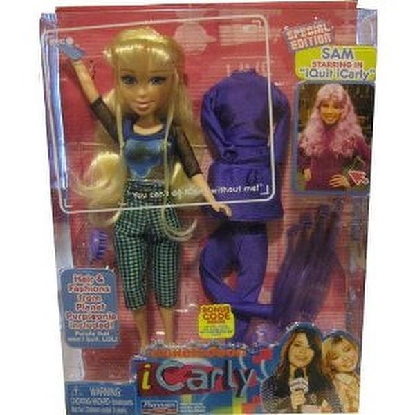 ICarly 11 Sam Doll Special Edition I Quit