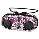 KIDdesigns, Inc Barbie iHome MP3 Portable Water-Resistant Stereo Sport Case