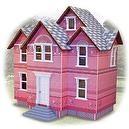 Melissa & Doug Classic Heirloom Victorian Doll House