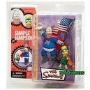 """McFarlane Simpsons Homer & Bart Figure - Series 1 """"Pie Man & Cupcake Kid"""""""