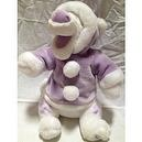 "Disney Winnie the Pooh Friend Snowball Tigger Purple 14"" Plush Doll Toy"