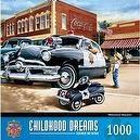 1000-Piece Policeman Dreams Puzzle Art by Dan Hatala