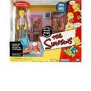 KRUSTY BURGER & EXCLUSIVE PIMPLY FACED TEEN The Simpsons World Of Springfield Interactive Environement & Action Figure