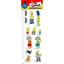 CLASSIC COLLECTORS SET - The Simpsons POP-OUT PEOPLE Characters & Background Set from Dark Horse Comics