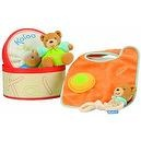 Kaloo Bib Set with Toy, Orange
