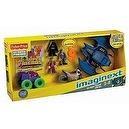 Fisher-Price Imaginext DC Super Friends Figures & Vehicles Gift Set -Batman, Joker, Two Face, Batwing, BatCycle & Joker