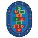 "Theme Hopscotch Learning Kids Rug Size: 510"" x 84""  Hop Scotch Learning Rug"