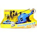 Imaginext POLICE EXPANSION SET EXCLUSIVE Helicopter Car Fisher Price 14061 New