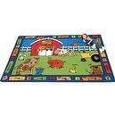 "Literacy Alphabet Farm Kids Rug Size: 45"" x 510""  Alphabet Farm Rectangular Rug"