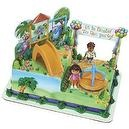 Dora Explorer & Diego Playground Cake Decorating Kit