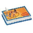 Boys Basketball Cake Decorating Kit