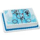 Ice Hockey Cake Topper Decorating Kit