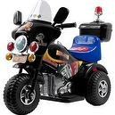 Lil Rider Battery-Powered Deputy 3-Wheel Bike, Red/Blue