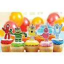 Decopac Yo Gabba! Cake Toppers Party Supplies  Yo Gabba Gabba! Cake Toppers