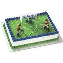 Soccer Kick Off Boys Cake Dec Kit