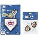 MLB Cincinnati Reds Lay-on Cake/Cupcake Decorations