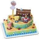 Spongebob Squarepants and the Krusty Krab Cake Topper Decorating Kit