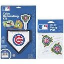 MLB Chicago Cubs Lay-on Cake/Cupcake Decorations