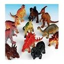 Dozen Jumbo Dinosaurs up to 6 inches long