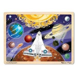 Melissa & Doug Space Voyage Jigsaw 48 Piece
