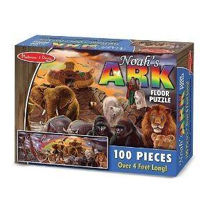 Melissa & Doug Deluxe 100pc Noahs Ark Floor Puzzle