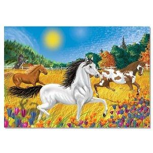 Melissa and Doug Horses in the Meadow Cardboard Jigsaw Puzzle (100 pc)