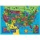 Great American Puzzle Factory Faces and Places The United States of America 100 Piece Puzzle